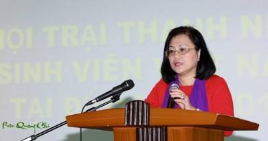 Phát biểu của Đại sứ Nguyễn Thị Hoàng Anh tại Hội trại Sividuc.org 2015