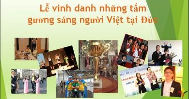 Lễ vinh danh những tấm gương sáng người Việt tại CHLB Đức tại Hội trại 2014