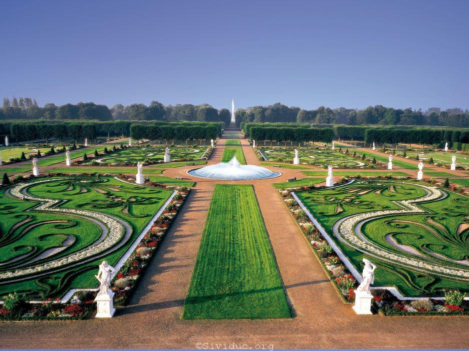 Ảnh: Herrenhäuser Gärten