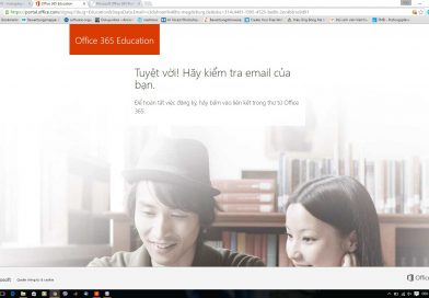 Office 365 giảm giá cho sinh viên