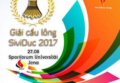 Giải cầu lông SiviDuc 2017