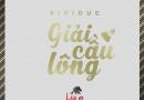 Giải Cầu lông Sinh viên Việt Nam tại CHLB Đức – cúp Sividuc 2018